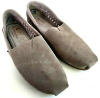 BOBS Skechers Boho Crown Womens Size 8 Taupe Slip On Ballet Flats Loafers Shoes