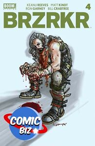 BRZRKR #4 (2021) 1ST PRINTING GRAMPA MAIN COVER A BOOM STUDIOS COMICS