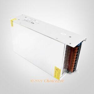 AC 110V 220V To DC 60V 20A CNC Stepper Driver Power Supply PUS For CNC Router