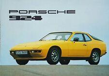 Porsche 924 German Market Launch Brochure - 1976