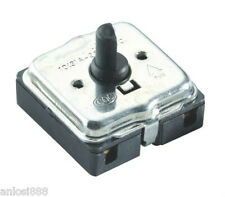 Tuowei 4 Position Rotary Switch OFF/Low/Medium/High with Knob For Fan Heater