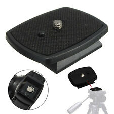 Screw Adapter Quick Release Plate Tripod Mount Head  For DSLR SLR Digital  New.
