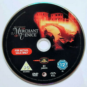 The Merchant Of Venice (DVD) Disc Only - Jeremy Irons - Al Pacino - (2004)