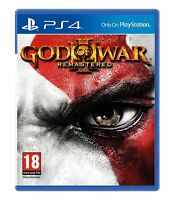 God of War 3 III Remastered PS4 NEW Game for Sony PlayStation 4