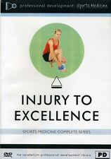 Injury To Excellence - 2 DISC SET (2012, REGION 1 DVD New)