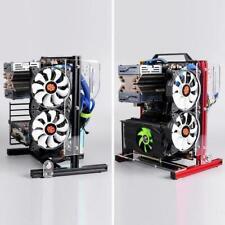 DIY Open-Frame Computer Chassis ATX/MATX/ITX Radiator Aluminum Alloy PC Case BST