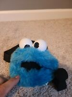 Vintage Roma Kids Cookie Monster coin purse w/ zipper (1985?? can't read tag)