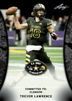 2018 LEAF Trevor Lawrence US ARMY ALL-AMERICAN - TRUE FIRST ROOKIE CARD