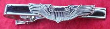 Aviator Pilot Wings Tie Bar Fix Clip Army Navy Air Force Aeroplane Clasp