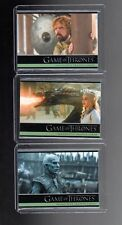 Game of Thrones season 5  P1,P2 and P3  promo cards