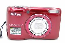 Nikon COOLPIX L26 16.1 MP 3'' SCREEN 5X Digital Camera - RED