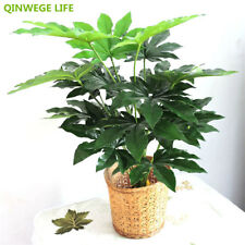 70cm Latex Artificial Plant Pachira Fake Tree Wedding Party Home Decor Green