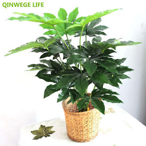 70cm Latex Artificial Plant Pachira Fake Tree No Vase Wedding Party Home Decor
