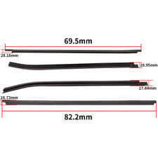 4 Weatherstrip Window Moulding Trim for Toyota HILUX SR5 Double Cab 4Doors 05-15