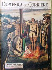 La Domenica del Corriere 7 Aprile 1963 Impero Africa West Scotto Cinema Chiari