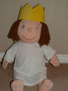 """LITTLE PRINCESS LARGE 26"""" DOLL PLUSH BEANIE SOFT TOY TONY ROSS BORN TO PLAY"""