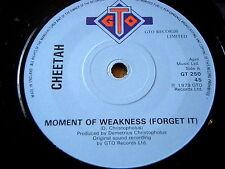 "CHEETAH - MOMENT OF WEAKNESS     7"" VINYL"