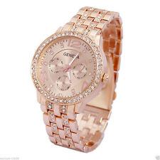 Geneva Women's Wristwatches with Chronograph
