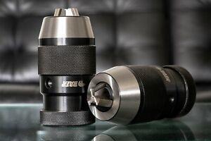 Hochpräzions-Bohrfutter 0,2-13 mm mit Kegeldorn MK 1 Schnellspannbohrfutter BAER