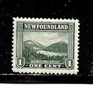 Newfoundland Scott # 131/A70- 1c  Mint/LH-1923-24-OG