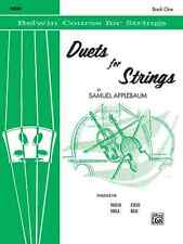 "Belwin Course ""Duets For Strings"" Violin Music Book 1 Brand New On Sale!"