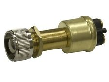 New Momentary Push-button Switch sierra Mp39360 Mom On/Off/SPST. Brass with 1-3/