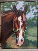 Horse Original Pastel Signed by Cindy Price