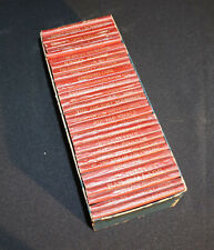 30 1920's Red Leather Shakespeare Miniature Library Books Various Authors