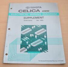 Toyota Celica 4WD Schaltpläne ST205  1994 Ergänzung Werkstatthandbuch