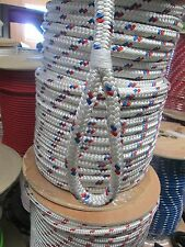 CABLE PULLING ROPE   9/16 x 150' DOUBLE BRAID POLYESTER  USA w/LOOP