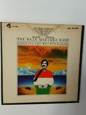 """Julius Wechter &the Baja Marimba band """"As Time Goes By""""  Reel to Reel 7 1/2ips"""