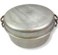 Vintage Lifetime Ware Waterless Cooking Dutch Oven Aluminum Lid Roaster Pot 38