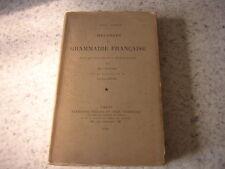 1905.mélanges de grammaire française / Adolf Tobler.linguistique