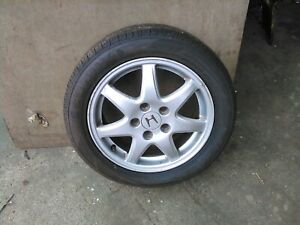 Honda accord coupe 2001 alloy wheel and excellent sunny 205/55r16 tyre 6mm tread