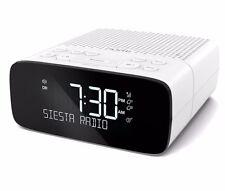 PURE Siesta S2 DAB+ NUMÉRIQUE RADIO FM réveil de chevet - Blanc
