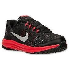 NIKE Kids Fusion Run 3 PS Shoes NIB Boys Sz 11c / EUR 28 Black Silver Red Grey