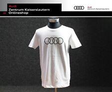 Audi Herren T-Shirt weiß kurzarm Rundhals 3131701826 Größe XXL
