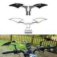 Motorcycle Rearview Side Mirrors For Yamaha V-Star XVS 650 1100 Custom Silverado