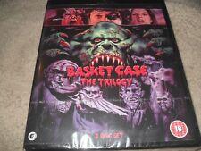Basket Case The Trilogy 3-Film 3-Disc Region Free BRAND NEW Blu-ray