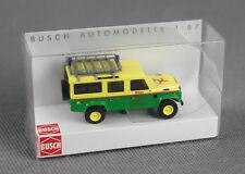 """BUSCH 50320 (H0, 1:87) - Land Rover Defender """"Knorr Betriebswehr"""" - NEUWARE!"""
