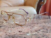 Cartier Must De Cartier Vintage Rolled Gold Glasses Frames 100% Genuine