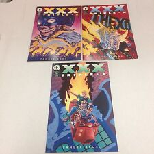 XXX Triple X Pander Bros. 7 issue Dark Horse Comics complete set