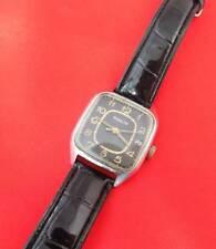RARE Raketa wrist watch vintage Soviet USSR mechanical wristwatch Leather band