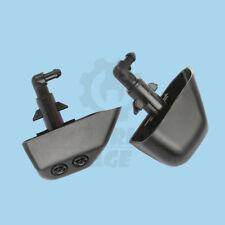 Pair Headlight Washer Jet Spray Nozzle Sprayer L+ R For Land Rover LR2