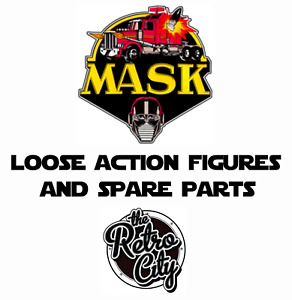 Vtg M.A.S.K Figures Spare Parts Accessories Weapons Vehicles 80s Kenner MASK