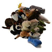 WWF World Wildlife Fund Ganz Gund Ocean-Conservancy Wild Animal Stuffed Plush
