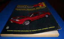 Haynes 43015 Repair Manual Hyundai Excel Accent 1986 Thru 1998 All Models