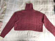 Womens Missguided Dark Pink Purplish Jumper Size 10/12