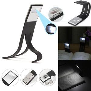 Flessibile Pieghevole LED Clip Scritta Libro Luce Lampada Per Lettore Kindle! G