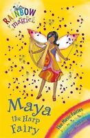 Maya the Harp Fairy (Rainbow Magic) by Daisy Meadows, Acceptable Used Book (Pape
